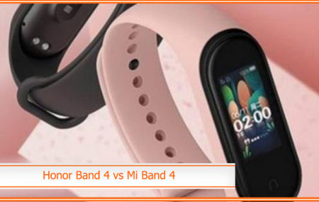 Honor Band 4 vs Mi Band 4