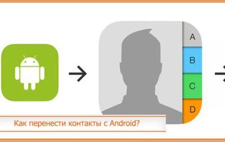 Как перенести контакты с Android на iPhone: пошаговая инструкция