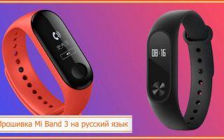 Как прошить Mi Band 3 на русский: основные способы, инструкция и возможности