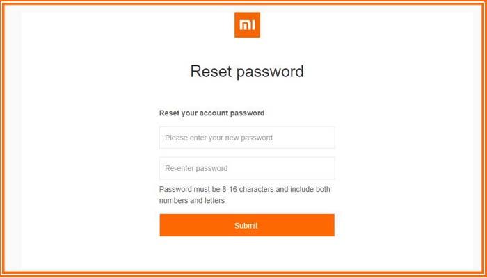 как восстановить ми аккаунт если забыл пароль и логин